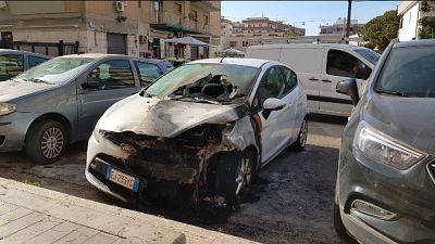 Incendiata auto giornalista a Siracusa