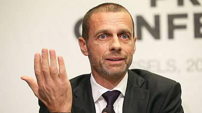 Soccer - UEFA president Ceferin hails English teams' Champions League comebacks
