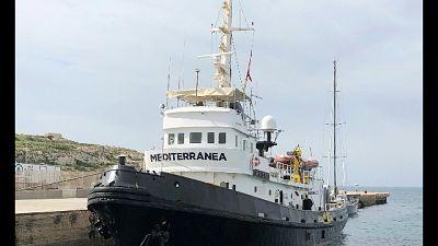 Mare Jonio a Lampedusa, nave sequestrata