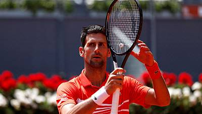 Djokovic in Madrid Open semis after Cilic food poisoning withdrawal