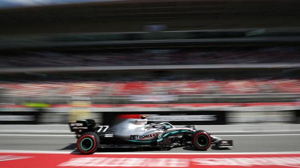 بوتاس يتصدر ومرسيدس يهيمن على تجارب سباق جائزة إسبانيا الكبرى