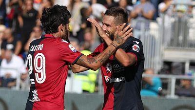 Cagliari recupera Castro e sfida Lazio