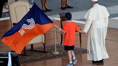 75 anni Csi, udienza da Papa Francesco