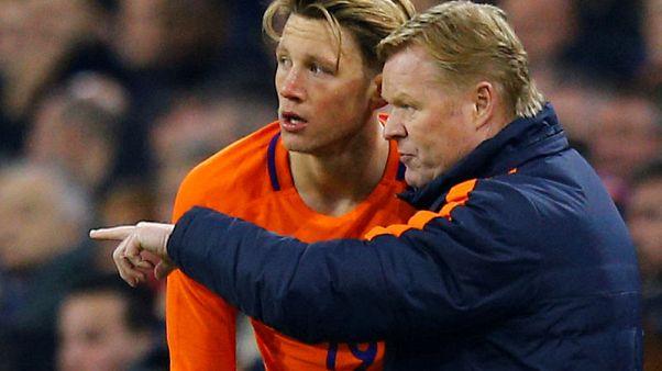 Netherlands recall forward Weghorst for Nations League finals