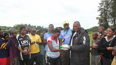 Rwanda Women's Rugby 7's tournament