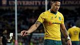 Rebels, Reds players huddle for prayer as Folau case rumbles