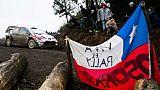 Rallye du Chili: Tänak devant Ogier et Neuville à la mi-journée