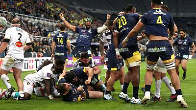 Clermont crush La Rochelle for third Challenge Cup triumph