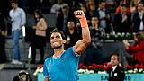 Tennis: Nadal surclasse Wawrinka et rejoint Tsitsipas en demie à Madrid