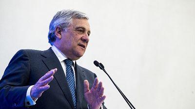 Tajani, in Umbria voto prima possibile