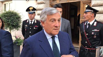 Tajani, su sisma unici soldi da Europa