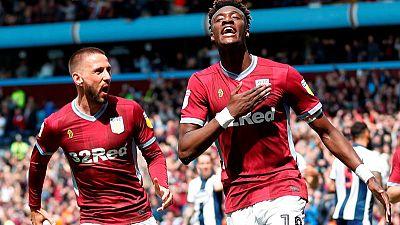 Hourihane, Abraham give Villa Championship playoff win over West Brom