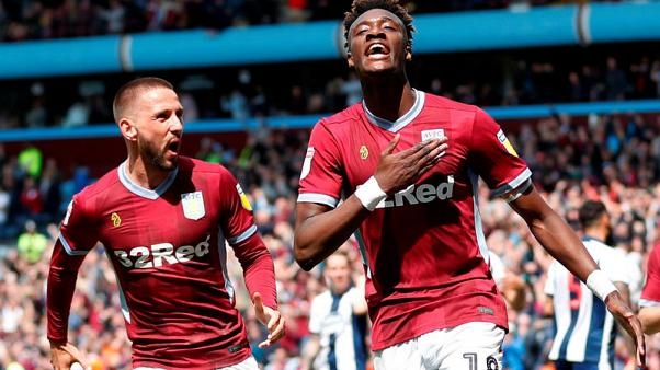 Hourihane, Abraham give Villa Championship playoff win over West Brom