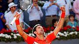 Madrid: Djokovic primo finalista