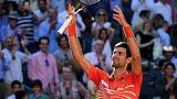 Madrid: Djokovic éteint Thiem et se qualifie pour la finale