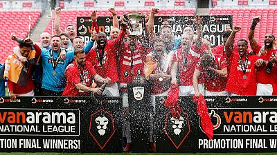 Salford City secure promotion to League Two