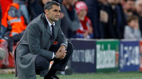 Valverde to fight on as Barca coach after Champions League woe