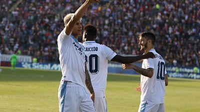 Serie A: Cagliari-Lazio 1-2