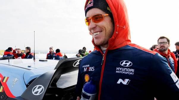 Rallying - World championship leader Neuville crashes out in Chile