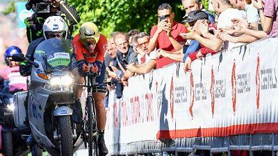 """Giro: Roglic """"felice"""", Nibali ottimo 3/o"""