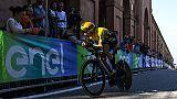 Giro: Roglic vince la crono di Bologna