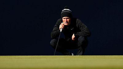 Golf - Kinhult, Wallace share British Masters lead