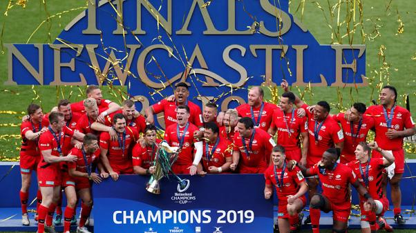Saracens surge back to beat Leinster in Champions Cup final