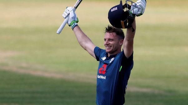 Cricket - Buttler blasts century as England edge Pakistan in run-fest