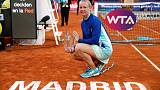Bertens earns flawless Madrid triumph with win over Halep