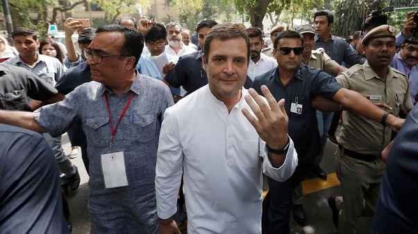 الهند تجري المرحلة قبل الأخيرة من الانتخابات العامة
