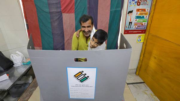 India votes in penultimate phase of seven-round general election