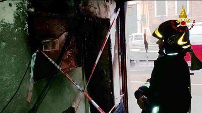 Incendio in palazzo Jesi, otto salvati