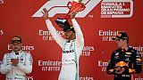 GP d'Espagne: victoire de Lewis Hamilton qui reprend la tête du championnat