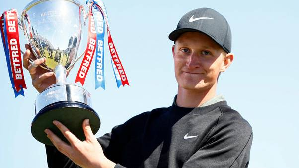 Golf - Kinhult clinches maiden European Tour win at British Masters