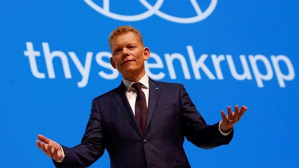 Germany's Thyssenkrupp to seek new steel partners, CEO tells paper