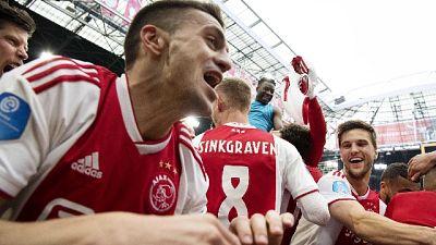 Ajax si consola, il titolo ormai è suo