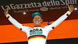 Tour d'Italie: Ackermann poursuit la récolte Bora