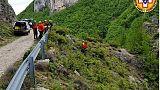 Escursionista ferito in canyon Majella
