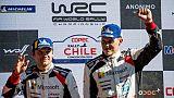 Rallye du Chili: Tänak vainqueur, Ogier de nouveau leader du championnat