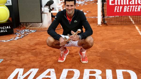 Djokovic claims third Madrid Open title after seeing off Tsitsipas