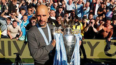 No European glory, but City's Guardiola shows grit to retain title