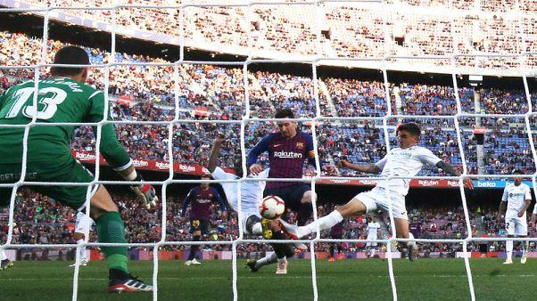 Barca beat top-four hopefuls Getafe but booed for European failure