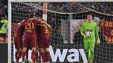 روما يحافظ على آماله بانتصار 2-صفر على يوفنتوس