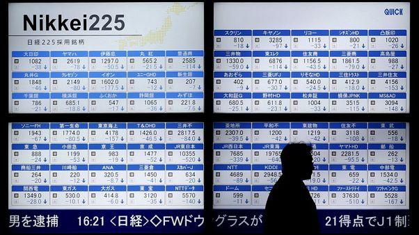 المؤشر نيكي ينخفض 0.77% في بداية التعاملات بطوكيو