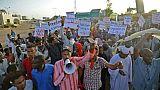 Des Soudanais manifestent à Khartoum, le 14 mai 2019