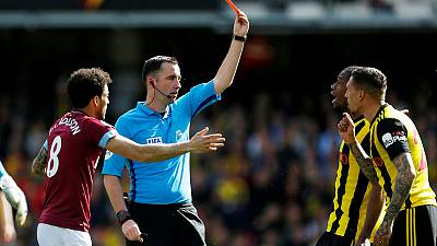 Watford to appeal Holebas red card ahead of FA Cup final