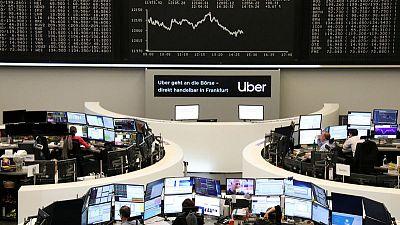 Auto stocks lead European shares lower amid U.S.-China trade standoff