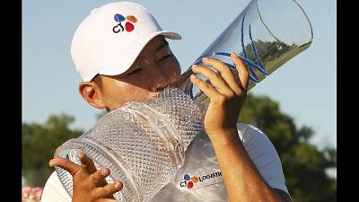 Golf, a Sung Kang l'AT&T Byron Nelson