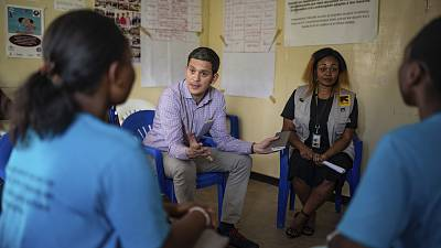 """As Ebola cases spike, IRC's David Miliband visits DRC: """"The situation is far more dangerous than the statistic of 1000 deaths, itself the second largest in history, suggests"""""""