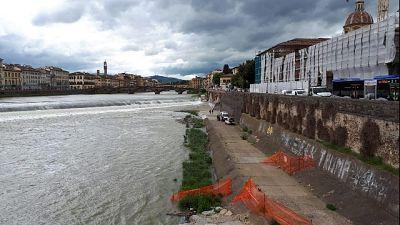 Cade in Arno a Firenze, morto un uomo